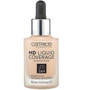 Catrice - Liquid HD Foundation Coverage - 020 Rose Beige