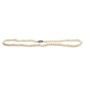 Luxelu London 'Mignon' Silver Clasp Pearl Necklace AAA