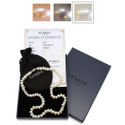 Freshwater Pearl Necklace, AAA, Sterling Silver Clasp - 'Classic' Collection by Luxelu London
