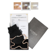 DROP 'Mignon' Collection FRESHWATER PEARL NECKLACE, AAA, Sterling Silver Clasp by Luxelu London