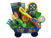Deluxe Finding Dory Sand Gift Basket Waggon for Boys or Girls for Birthday, Get Well, Surprise