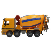 Blomiky 39cm Over Size Friction Cement Mixer Truck Construction Vehicle Toy Push Mixer
