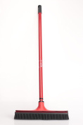 V7 Universal Broom with Shaft Red
