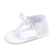 Jamicy Toddler Girls Bowknot Design Soft Sole Anti-slip Baby Sandals Shoes