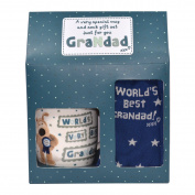Boofle Best Grandad Mug and Socks Gift Set