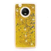 for Motorola Moto G5 Plus ,Quicksand Glitter Liquid Case Sott TPU Slim Back Cover