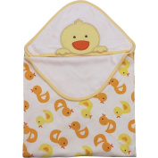 Minizone Newborn Baby Swaddling Blankets Swaddle Wrap Sleeping Bag Infant Hooded Blanket Embroidery Pattern
