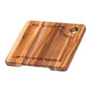 Teakhaus Cutting Board, Brown, 20 x 20 x 1.9 cm