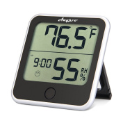 Humidity Monitor - Anypro Hygrometer Thermometer with Temperature Gauge and Humidity Metre