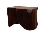 IRIS OHYAMA DESK HEATER DEH-45-T (Brown)【Japan Domestic genuine products】