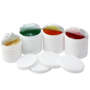 COM-FOUR ® Set of 4 Cream Relax & Refresh (Red Vine Leaves/Horse Balm, Devil's Claw, Anti-Cellulite Gel Warming Horse Balsam Cooling