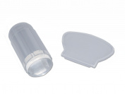 RM Beauty Nails Clear Stamp Stamper Stamping Nail Art Transparent/White