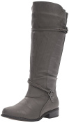 Brinley Co Women's Olive-Wc Riding Boot