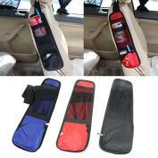 Grocery House Car Seat Side Travel Organiser Bag, Multi-Pocket Holder Pouch