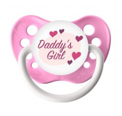 Ulubulu Expressions Pacifier Daddy's Girl Pink