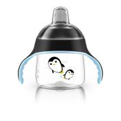 Philips AVENT My Penguin Sippy Cup, Black, 210ml