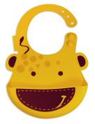 Marcus & Marcus Lola the Giraffe Baby Bib - Yellow