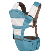 5 in 1 Well Design Natural Durable Multifunctional Ergonomic Baby Carrier Sling with Hip Seat and Adjustable Sling Strap