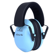 Sound Kids Earmuffs / Hearing Protectors - Adjustable Headband Ear Defenders for Children, Blue
