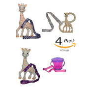 8 Straps Hnybaby Straps Baby Stroller Accessories Toy Strap For Baby Toys Bottles Sippy Cups