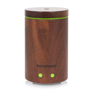 InnoGear Real Wood Essential Oil Diffuser Ultrasonic Aromatherapy Diffusers with 7 LED Colourful Lights and Waterless Auto Shut-off