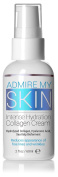 Admire My Skin Face Moisturiser For Dry, Sensitive Skin - This Anti Wrinkle, Anti Ageing Cream Contains Hydrolyzed Collagen + Hyaluronic Acid + Sea Kelp Bioferment 60ml