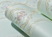 Stereo Pastoral Non - Woven Wallpaper Wallpaper Living Room Wallpaper Wallpaper,E