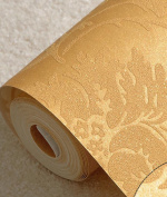 Wallpaper Green Non - Woven Paper Bedroom Living Room Wallpaper Background Wall Wallpaper Non - Woven Wall Stickers,B