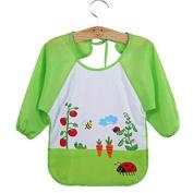 Asdomo Baby Nursing Feeding Bibs Child Long Sleeve Art Smock Bib Waterproof Apron Infant Toddler