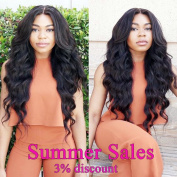 Maysu 7A Brazilian Virgin Hair Body Wave Hair Bundles 100% Unprocessed Remy Human Hair Extensions Natural Black Colour Brazilian Body Wave 4 Bundles 8 10 12 36cm