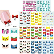 KADS Nail Art Stickers Decals Favourite Patterns About Cute Animal And Lovely Pattern-1 Pack 11 design