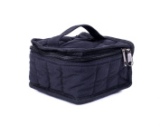Everything4Oils Essential Oils Carrying Case - Black W/black Interior