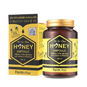 FARMSTAY All In One Honey Ampoule 250Ml,Propolis,Royal Jelly,Anti-Wrinkle,Whitening,All Skin Type