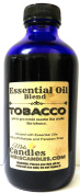 Tobacco 8 oz / 236.58 ml GLASS Bottle - Premium Grade A Quality Fragrance Oil, Tobacco - Skin Safe Oil