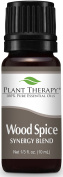 Plant Therapy Wood Spice Manly Scented Essential Oil Synergy. 10 ml (1/3 oz) 100% Pure, Undiluted, Therapeutic Grade.