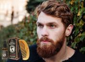 Blackstone Naturals Sandalwood Beard Oil Kit - All Natural Beard and Moustache Conditioner 30mL- Argan Oil, Jojoba Oil, Vitamin E Oil, Chamomile Oil and Sandalwood Oil