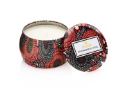 Voluspa Persimmon Copal Decorative Mini Tin Candle 120ml