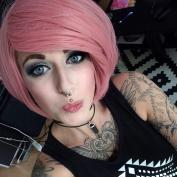 Baby Pink 30cm Halloween Costume Wigs