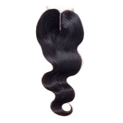 Body Wave Lace Closure Middle Part 8.9cm X 10cm Brazilian Virgin Hair Body Wave Lace Closure Human Hair Extensions
