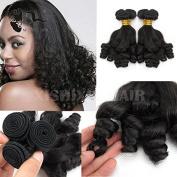 4Bundles/Lot Brazilian Hair weave Funmi bouncy Curly Remy Funmi Hair extension