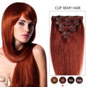 JIANAMEI 7A Grade Clip In 100% Remy Human Hair Extensions 8pcs 100g 30cm - 60cm Long Hair Silky Straight For Womwn Human Hair