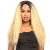 LH-NATURAL (P4/30) - The WIG Brazilian Human Hair Blend Invisible Deep Part Lace Front Wig