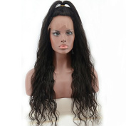 RIJIA Natural Wave Front Lace Wigs Brazilian Full Lace Human Hair Wigs For Black Women Natural Curly Human Remy Hair Wigs