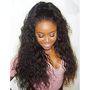 Ten Chopstics 360 Lace Front Human Hair Wigs 360 Lace Frontal Wig 180% Density Loose Curly Lace Front Wigs With Baby Hair Natural Bleached Knot 360 Wig for Black Women