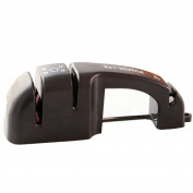 Fast Knife Sharpener with Non-Slip Steel Bottom – Safe and Easy to Use