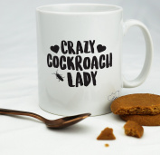 HippoWarehouse Crazy cockroach lady 300ml
