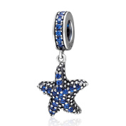 Ocean Starfish Charm 925 Sterling Silver Fish Charm Animal Charm for Pandora Bracelet