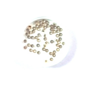 Imagine If... 1x1mm Gold Filled Crimp Beads, 50Piece, Tube 1mm / Findings / Yellow Gold