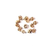 10 pcs, 5 pair 14k Gold Filled Ear Nuts for Earring Connector / Findings / Yellow Gold