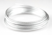 Creacraft Beading Style Wire - Aluminium Wire with Structured Surface